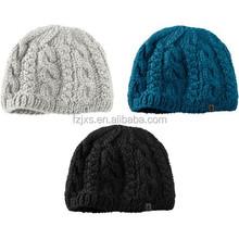 Custom Woven Label Unisex 58CM 100% Acrylic Beanie Hat