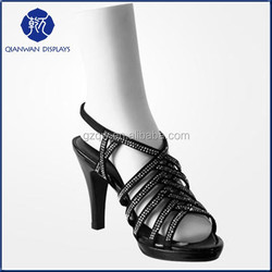 Harmony plastic female sock display clear foot mannequin on sale