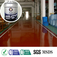 Acid alkali resistant 2k clear coat