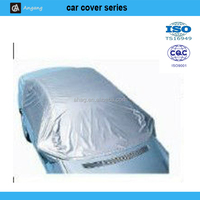 fabric sunshade easy folding half car cover