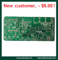Double-sided pcb board flexible printed circuit board assembly