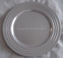 Ruond charger plate