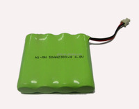 Ni-MH Rechargeable Battery AA 4.8v 1200mah Manufacturer with CE,ROHS,UL certificates