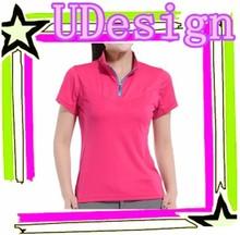 Good quality dry fit polo shirt womens plain blank polo shirt polyester polo shirt