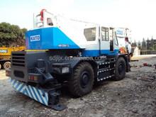 used kato 25ton rough terrain crane, secondhand rough crane 25t
