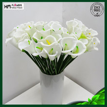 rubber artificial flowers decor artificial flower making