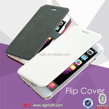 for iphone 6 leather case, flip leather case for iphone , pu leather case for mobile phone case