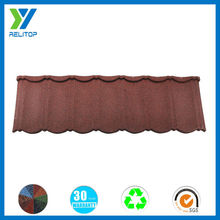 Hot sale building material/colorful stone coated roof for villa roof