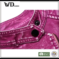 Online shop alibaba biker leather jacket, girls jacket