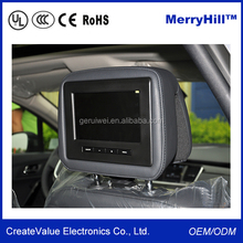 Car Touch Screen WIFI Wireless Monitor 10.1/10.4/12/13/14/15 inch Seat Back TV For Bus