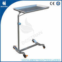 China BT-SMT002 surgical medical apparatus and instruments Surgery Mayo Table /therapy table price