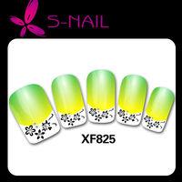 hot sell new design 3D nail sticker,nail foils, beautiful nail sticker