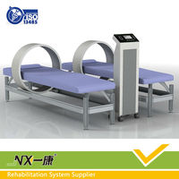 Intelligent magnetic physiotherapy shock wave therapy equipment for osteoporosis pain therapeutic with soft music
