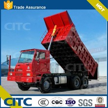 2-3 axles (FUWA brand axle) hydraulic dump trailer truck color and logo optional