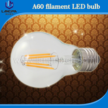 China direct manufacturer 2016 4W 6W 8W glass cover and aluminum base tungsten filament 220 volt light led bulbs with CE,ROHS,UL