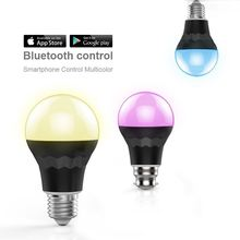 new hot products on the market,Bluetooth RGBW bulb wifi controlled colorsled bulb 550 lumens wi-fi control