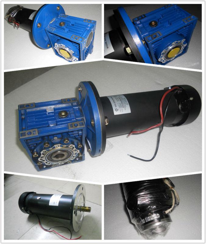 Dc Lightweight Dc Electric Gear Motor 24v Dc Motor 12 24 48v 200w 300w 500w 750w 1800 Rpm