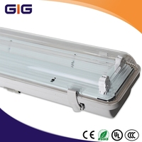T5 lamp IP65 Fluorescent light fixture with Electronic ballast