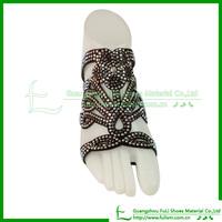 JS154 Popular Sandal Upper Of Shoe Clips For Party