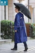 Economic durable Male & Female waterproof windbreak raincoat rainsuit raingear rainwear for heavy rain