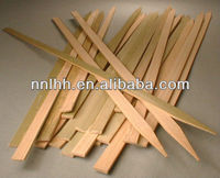 Flat Bamboo Stick With Single Point