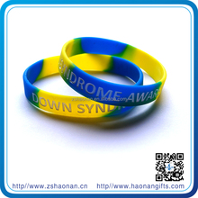 Colorful high quality brand new quality is excellent rubber wristband