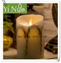 2016 Christmas scented luminara led candles with auto timer
