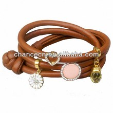 Braided friendship bracelet hostelling fashion bracelet titanium bracelet with jade