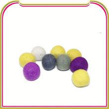 I050 wool felt ball for car beauty
