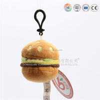 soft 3D animal design your own keychain ,plastic lock and key toy