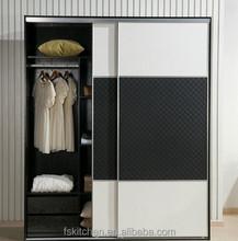 Bedroom wardrobe furniture oak solid wood stand wardrobe