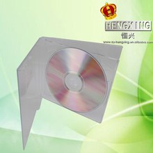 New 10.4mm PS Double pretty CD Jewel case with clear tray wholesale