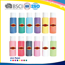 Water removable washable paint for drawing,decoration