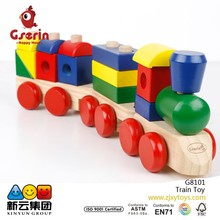 Wooden Stacking Train Toddler Toy(New)