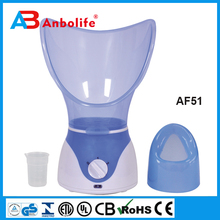 portable facial steamer with led light