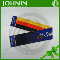 2015 new design best selling sublimation printing germany country logo fans scarf