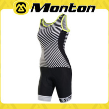 China Large suppliers Female sports vest women short sleeve bicycle clothing/cycling jersey set cycling apparel in summer