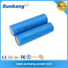 high cycle life rechargeable li ion battery 18650 3.7v 2200mah with CE, MSDS, ROHS, FCC
