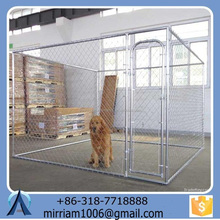 2015 Beautiful Wrought iron or powder coating dog kennel cages/ dog runs