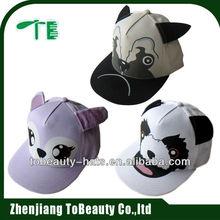 2015 cotton animal pattern promotional baseball cap