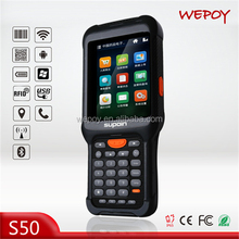 Programmable Qualcomm Quad core Bluetooth android OS laser high speed scanner