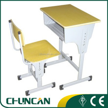 Classical standard size of school desk chair, student school furniture, student table chair set
