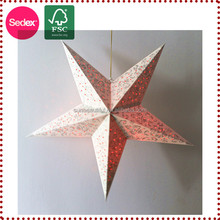 Christmas stage decoration star