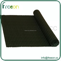 Green PVC Simple Face Fence 1x3m
