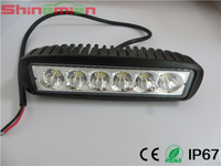 6INCH 18W LED WORK LIGHT SPOT BEAM FOR OFF ROAD 4x4 TRUCK ATV Tractor Motorcycle USE LED DRIVING LIGHT BAR VS 36W/72W