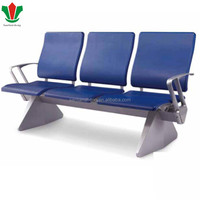 Public equipment 4-seater waiting area gang chair