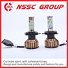 Waterproof standard led auto car headlight type 4000lu high lumen High Intensity led car bulbs