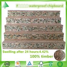 New product in China market 4'X8' JIS standard F 4 star plain waterproof chipboard