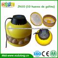 10 huevos JN10 incubadora de pollo