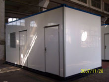 Steel structural living container house for sale